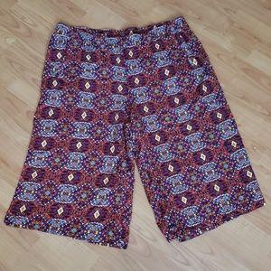 NWT Cato cropped elastic capri pants plus 3X